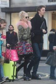Poppy Delevingne Out for Shopping on Bond Street in London