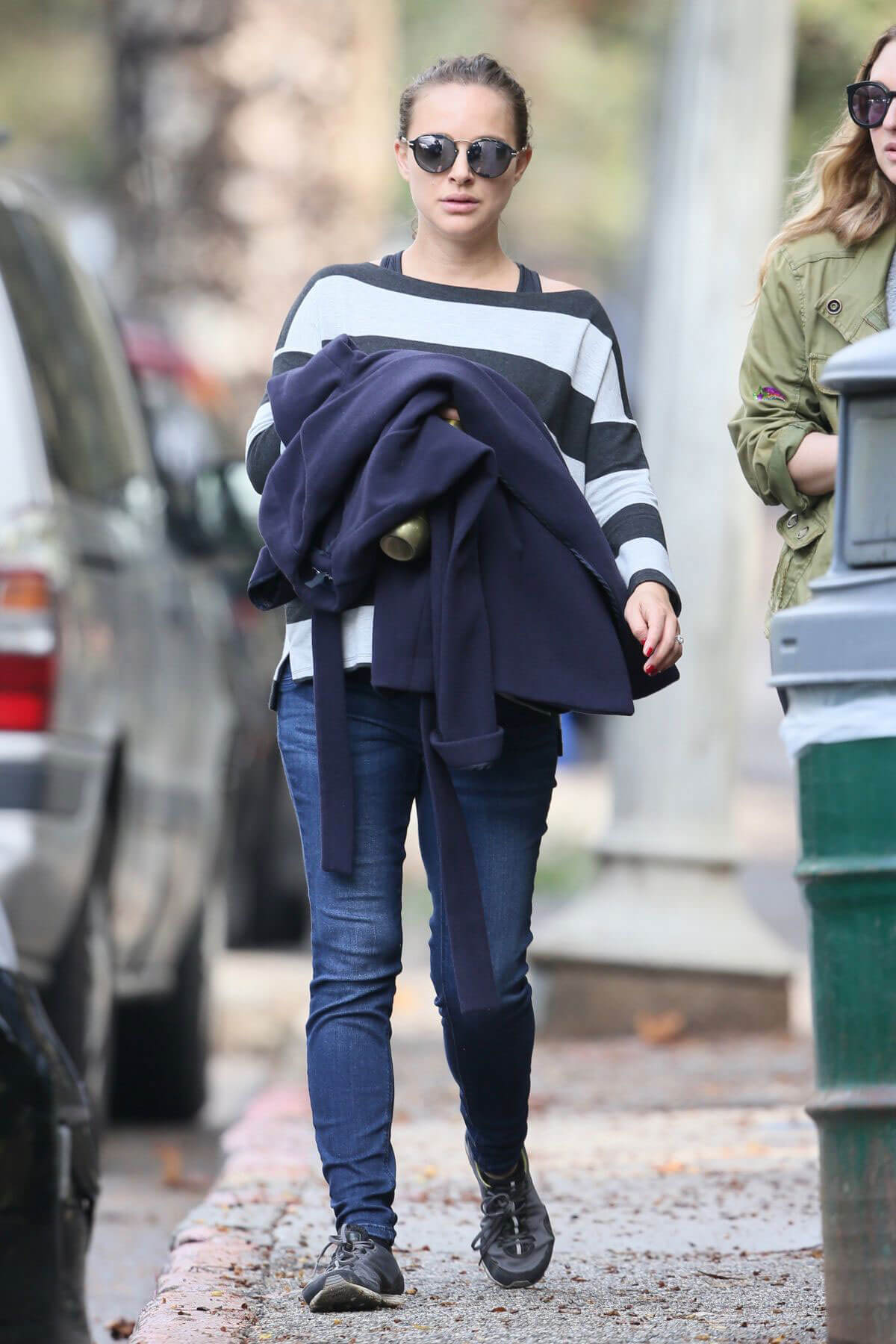 Pregnant Natalie Portman Out Hiking in Los Angeles