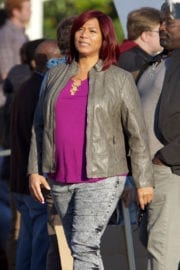 Queen Latifah on the Set of 'Girls Trip' in New Orleans