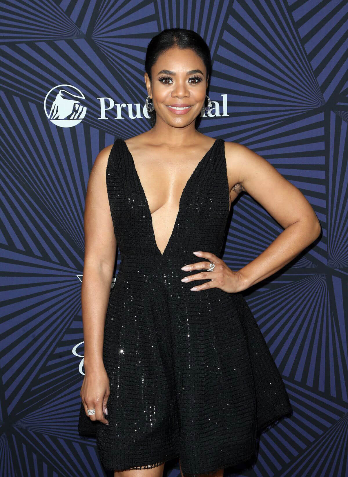 Regina Hall Stills at Bet's 2017 American Black Film Festival Honors Awards