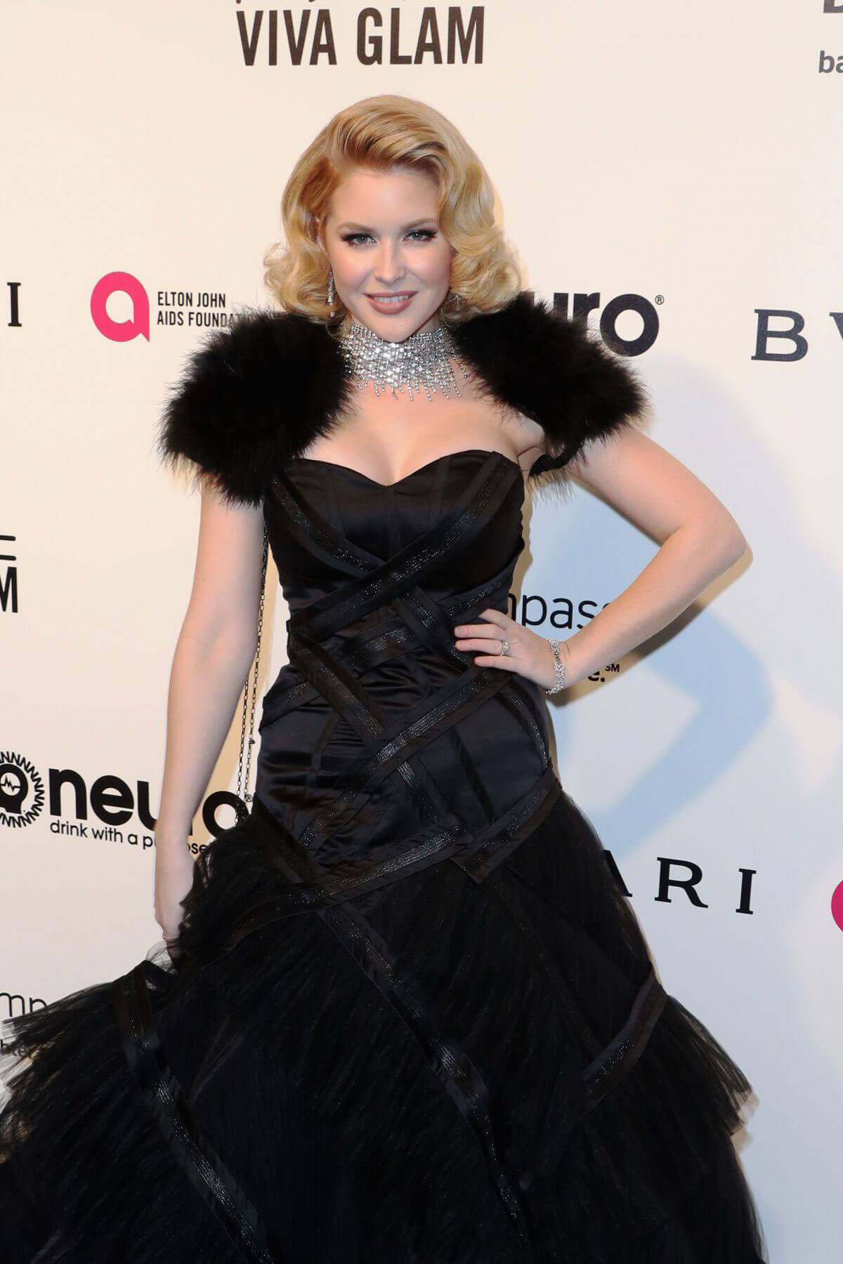 Renee Olstead Stills at 25th Annual Elton John Aids Foundation's Oscar Party in Hollywood