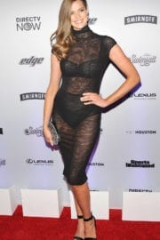 Robyn Lawley Stills at Sports Illustrated Swimsuit Edition Launch in New York