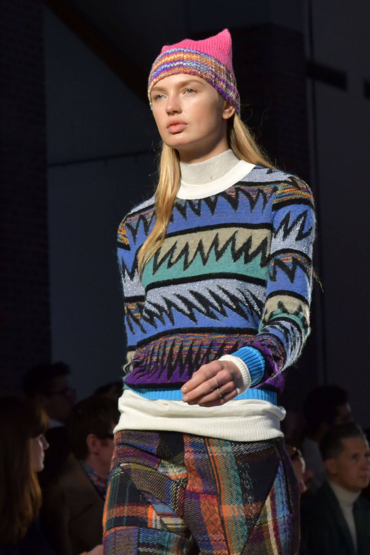 Romee Strijd Stills at Missoni Fashion Show at Milan Fashion Week