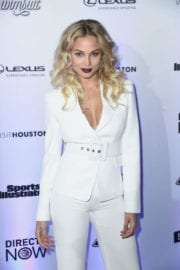 Rose Bertram Stills at Sports Illustrated Swimsuit Edition Launch in New York