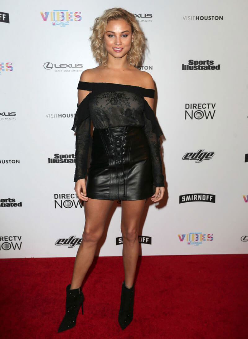 Rose Bertram Stills at VIBES by SI Swimsuit 2017 Launch Festival