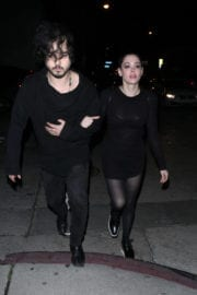 Rose McGowan Stills Night Out in West Hollywood