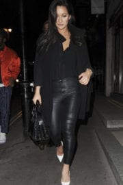 Roxie Nafousi Stills Night Out in London