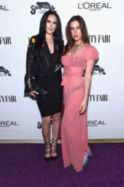 Rumer and Scout Willis Stills at Vanity Fair and L'Oreal Paris Toast to Young Hollywood