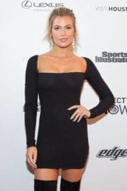Samantha Hoopes at VIBES by SI Swimsuit 2017 Launch Festival in Houston