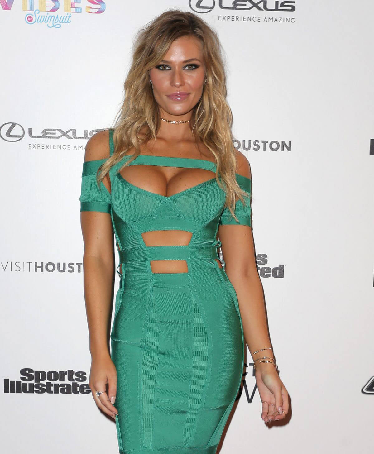 Samantha Hoopes Stills at Vibes by SI Swimsuit 2017 Launch Festival