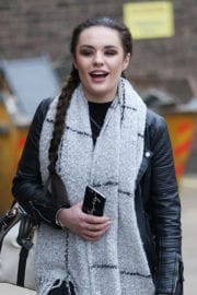 Samantha Lavery Stills at X-Factor Live Tour 2017 Rehearsals in London