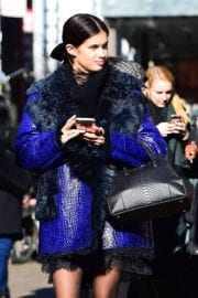 Sara Sampaio Stills Out and About in New York