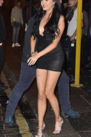 Sarah Goodhart Stills on the Set of Geordie Shore at Ttuptup Palace in Newcastle