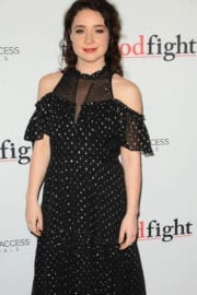 Sarah Steele at 'The Good Fight' Premiere in New York