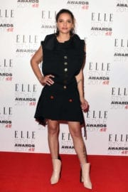 Sasha Lane at Elle Style Awards 2017 in London
