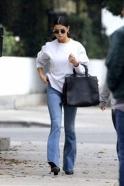 Selena Gomez in Jeans Out in Torrance