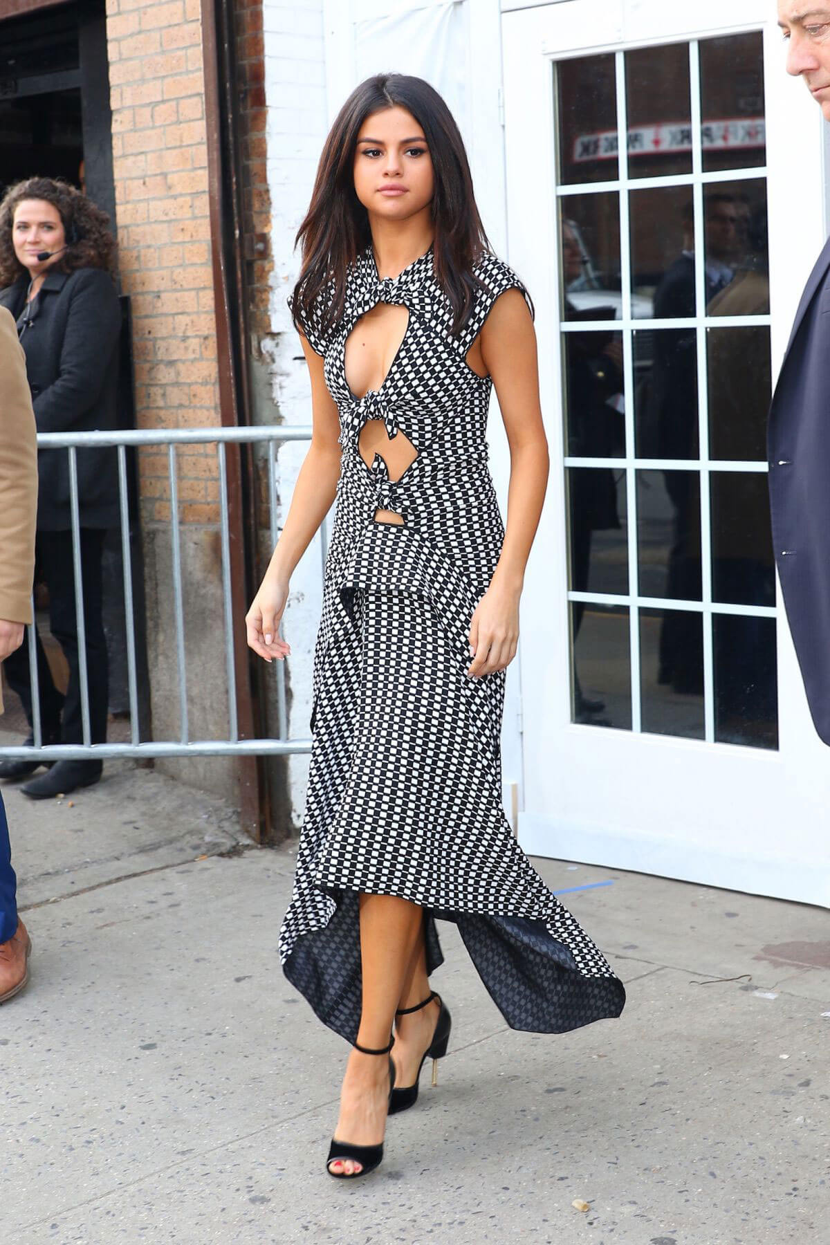 Selena Gomez Leaves a Promo Event in New York