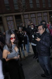 Selena Gomez Night Out in New York