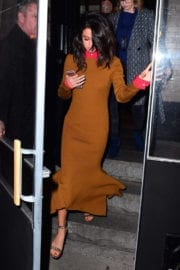 Selena Gomez Out for Dinner in New York