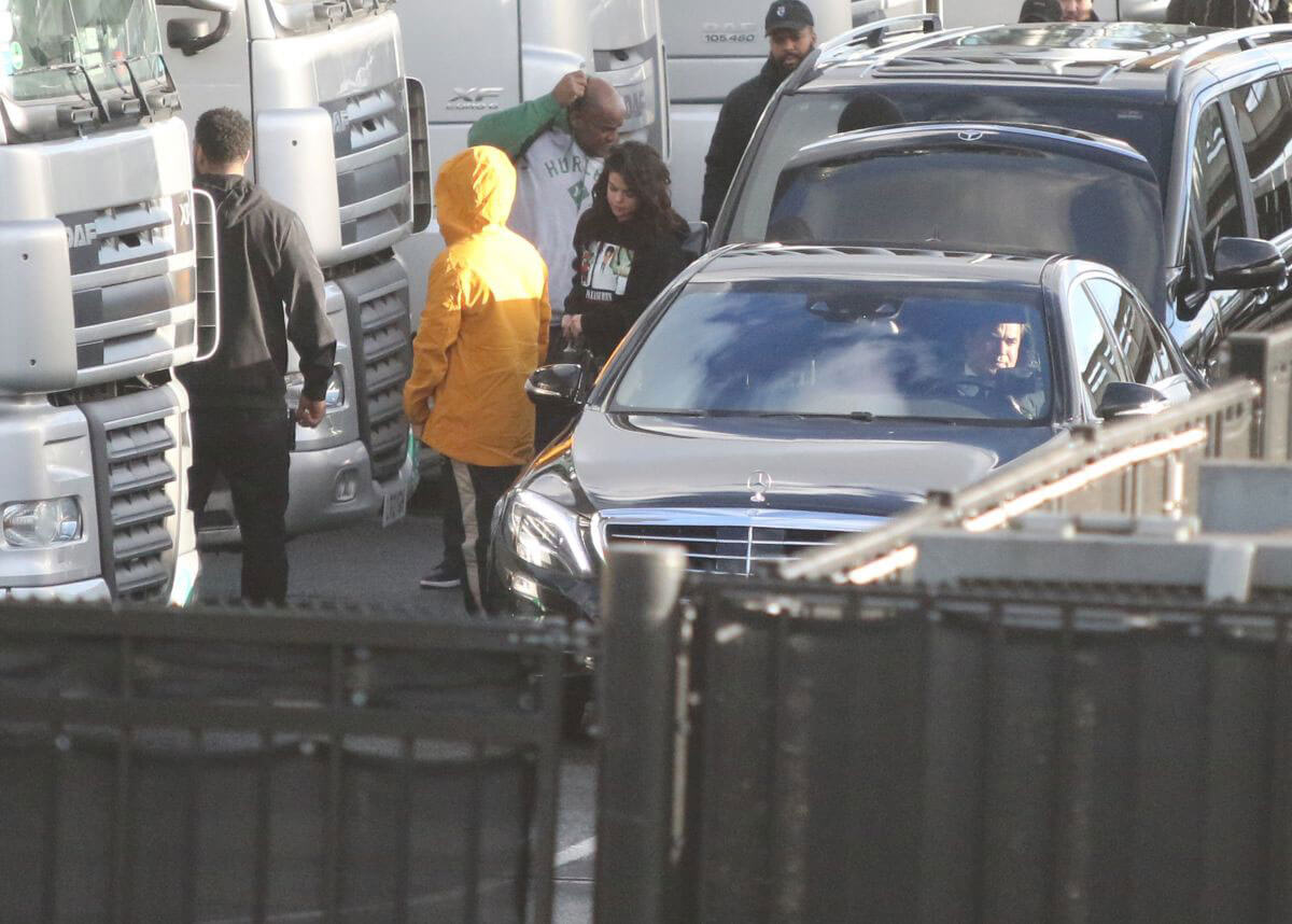 Selena Gomez Photos Joins The Weeknd on Tour in Amsterdam