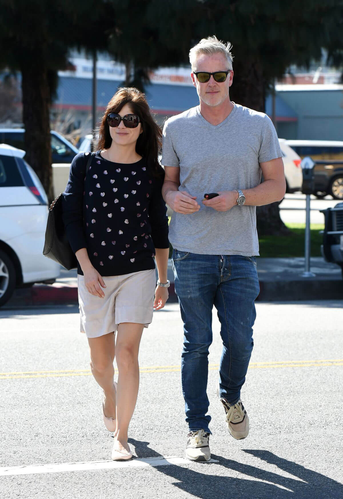 Selma Blair Stills Out for Lunch in Los Angeles
