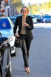 Sharon Stone Stills Out and About in Beverly Hills