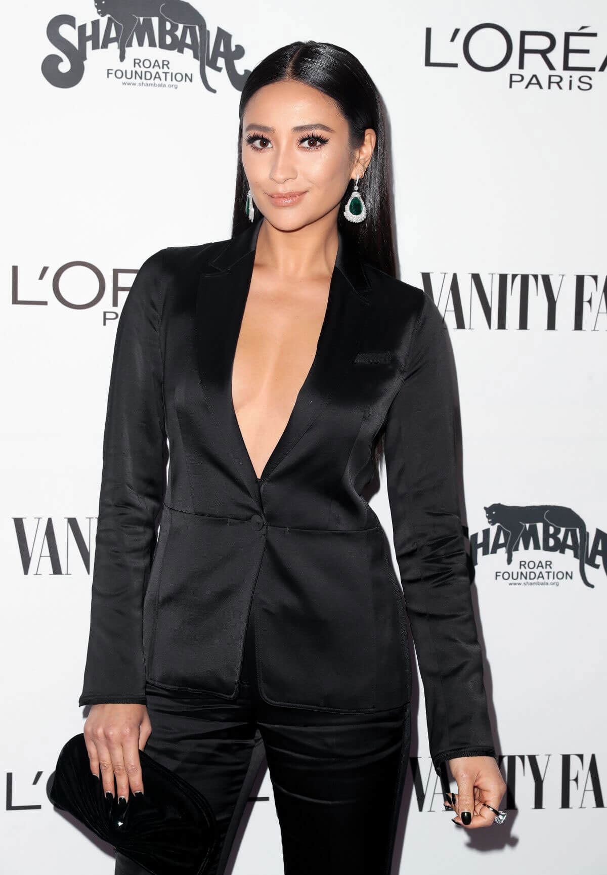 Shay Mitchell Stills at Vanity Fair and L'Oreal Paris Toast to Young Hollywood