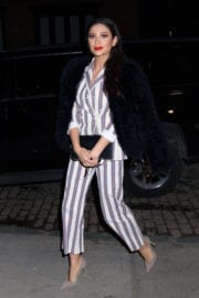 Shay Mitchell Stills Night Out in New York