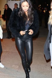 Shay Mitchell Stills Out for Dinner in New York