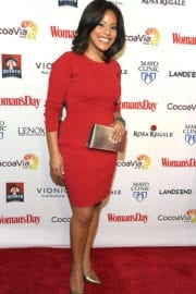 Sheinelle Jones at Women's Day 14th Annual Red Dress Awards in New York