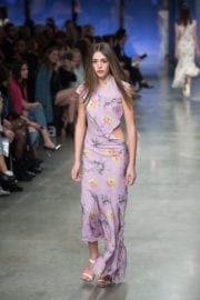 Sistine Rose Stallone Stills at Topshop Unique Show in London
