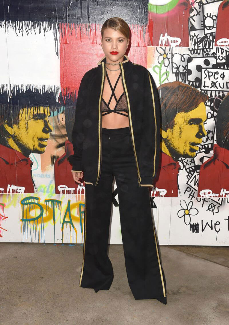 Sofia Richie at Tommyland Tommy Hilfiger Spring 2017 Fashion Show in Venice