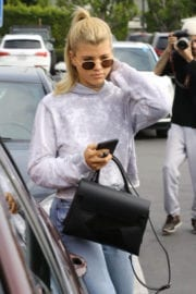 Sofia Richie in Jeans Out in Los Angeles