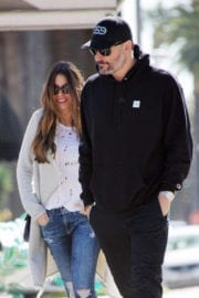 Sofia Vergara and Joe Manganiello Out for for Llunch in Los Angeles