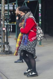 SoKo Stills Out and About in New York
