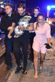 Sophie Kasaei Stills on the Set of Geordie Shore at Ttuptup Palace in Newcastle