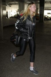 Sophie Turner at LAX Airport in Los Angeles