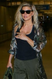 Stacy 'Fergie' Ferguson Stills at LAX Airport in Los Angeles