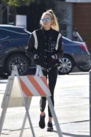 STELLA MAXWELL Out and About in West Hollywood