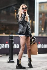 Stella Maxwell Stills Out and About in London