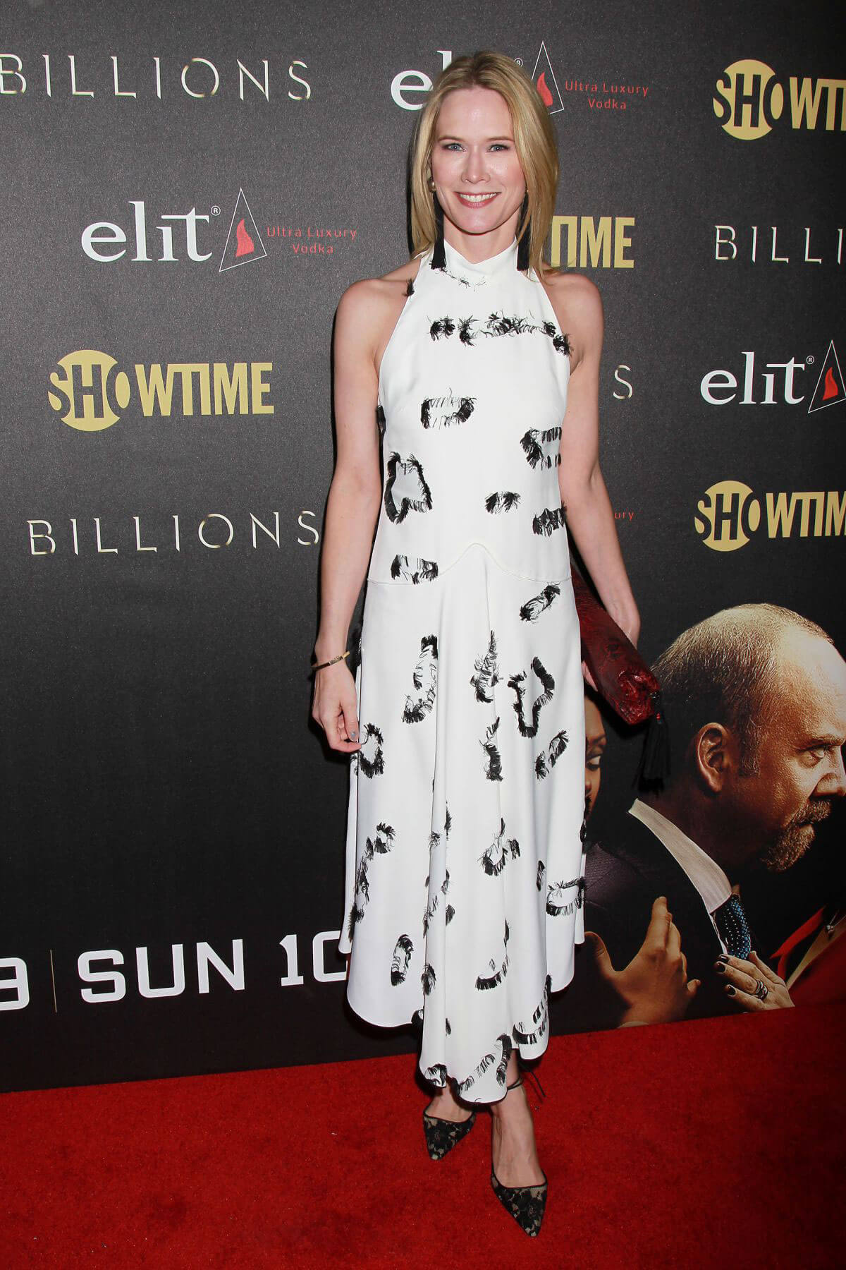 Stephanie March at 'Billions' Season 2 Premiere in New York