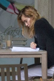Suki Waterhouse Out and About in Barbados