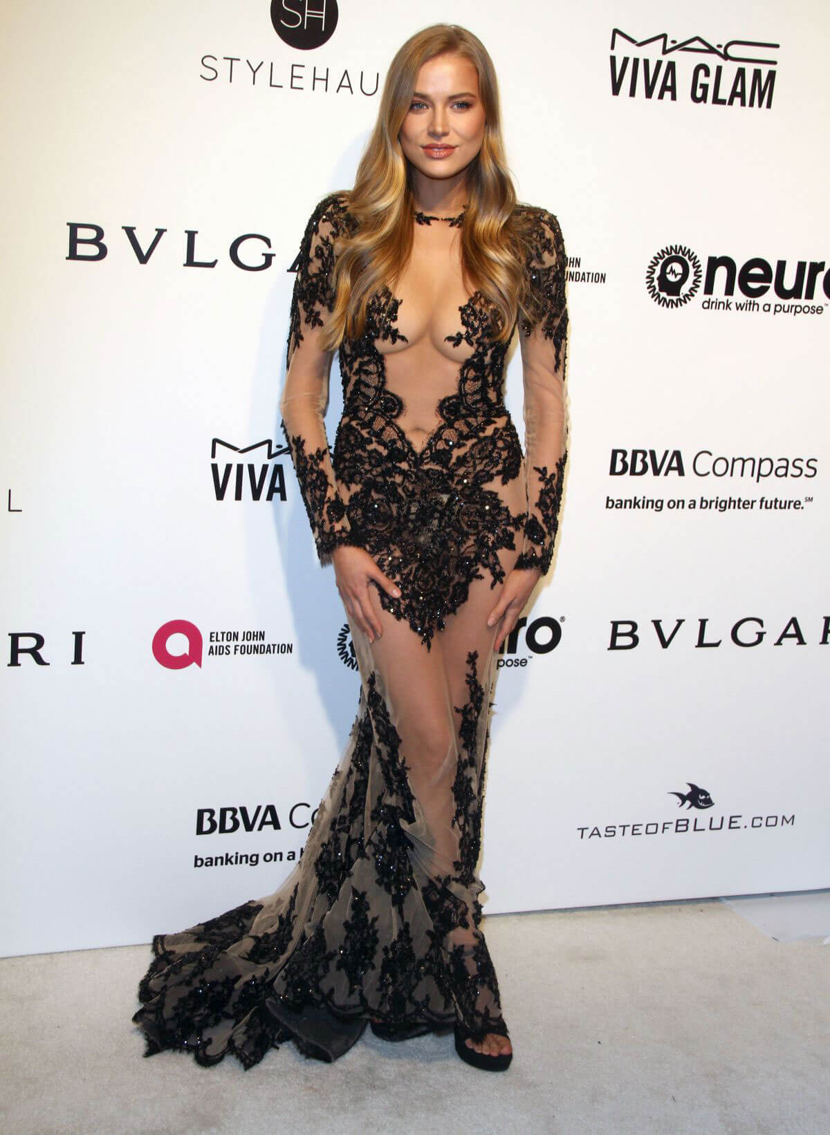 Tanya Mityushina Stills at 25th Annual Elton John Aids Foundation's Oscar Party in Hollywood
