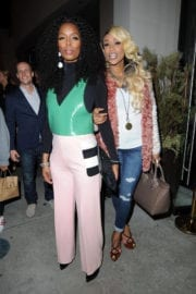 Tasha Smith and Tami Roman at Catch LA in West Hollywood