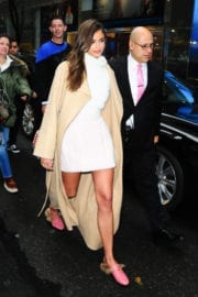 Taylor Hill Leaves VS Event in New York