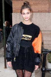 Taylor Hill Stills out and about in New York City