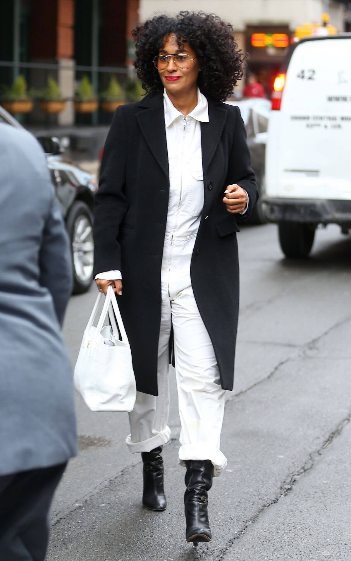 Tracee Ellis Ross Out in New York