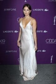 Troian Bellisario Stills at 19th Annual Costume Designers Guild Awards in Beverly Hills