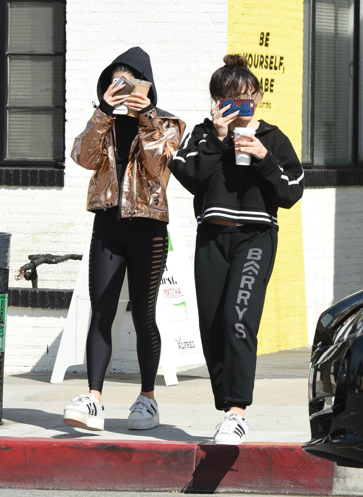 Vanessa Hudgens and Stella Hudgens Stills Out for Coffee in Los Angeles