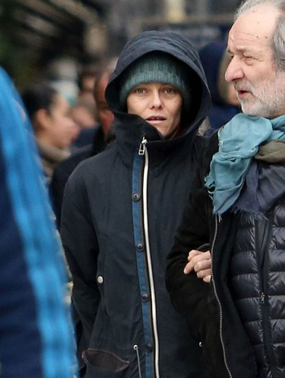 Vanessa Paradis Out and About in Paris